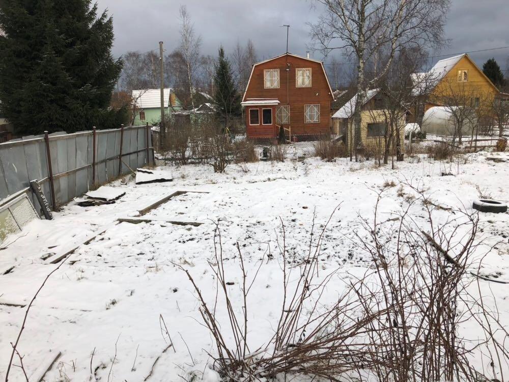 Участок в поселке морозова